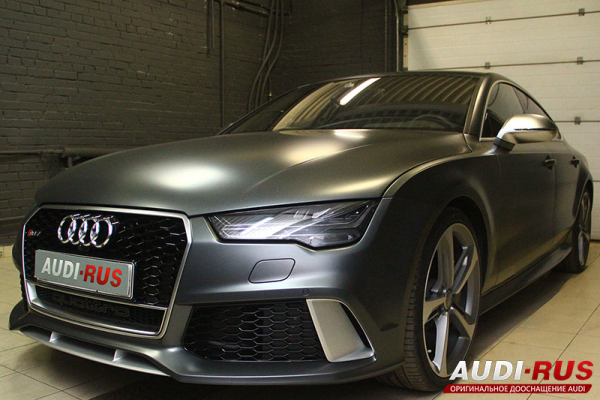 шумоизоляция audi rs7 sportback performance