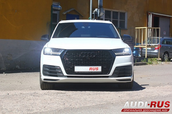 Audi Q7 4M - Установка Sound Booster, ABT Level Control